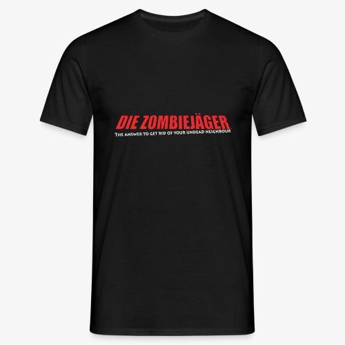 Die Zombiejäger - The Answer - T-shirt herr