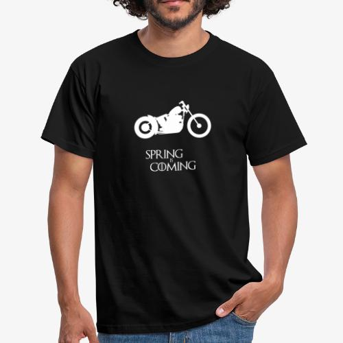 Spring is coming - Motorcycling T-Shirt - Männer T-Shirt