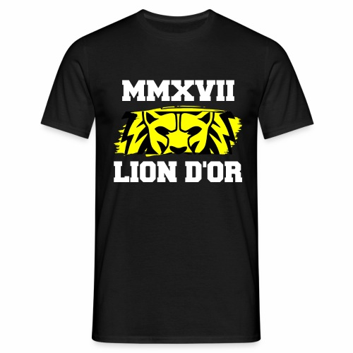 Lion_eyes - Männer T-Shirt