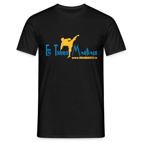 ETM bleu - T-shirt Homme