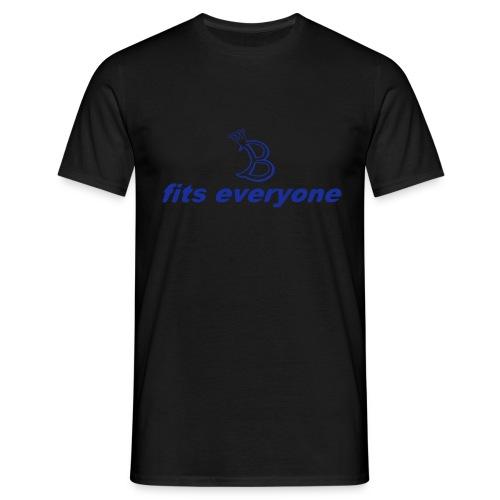fits eveyone mit b - Männer T-Shirt