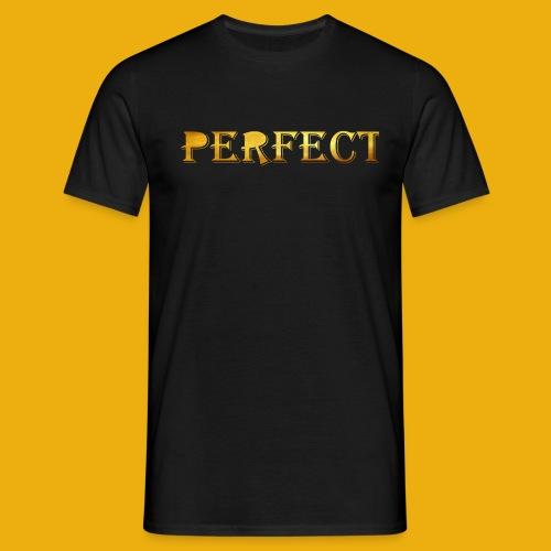 perfect metalic gold merch - Men's T-Shirt