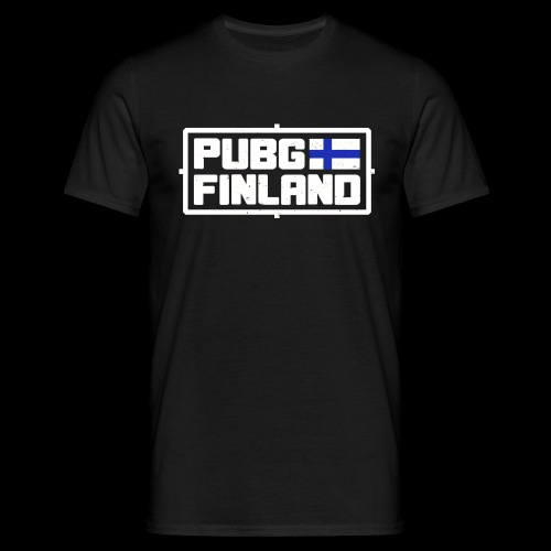 PUBG Finland white - Miesten t-paita