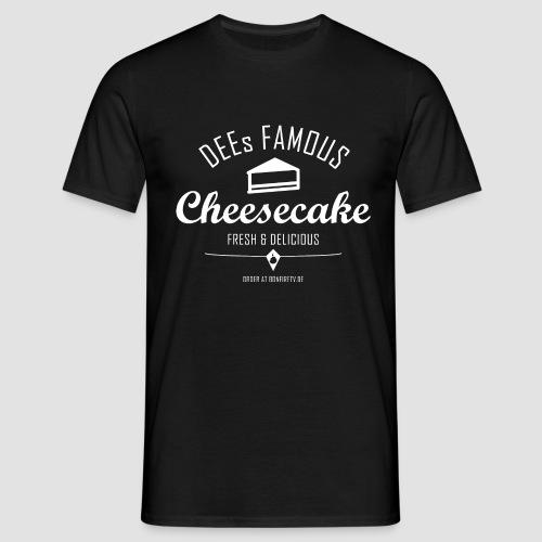 DEEs Famous Cheescake - Männer T-Shirt