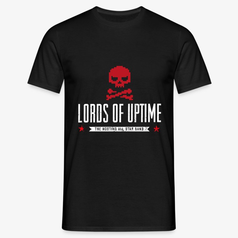 Lords of Uptime - Männer T-Shirt