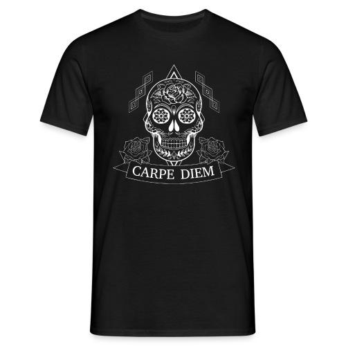 skull carpediem - Männer T-Shirt