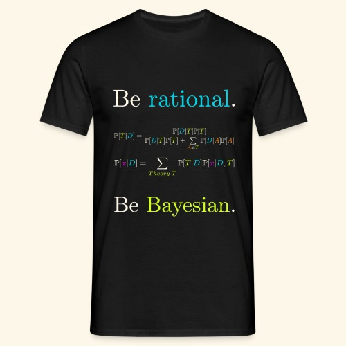 Bayésianisme Equations - T-shirt Homme