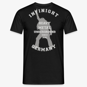 Infinight College headbanger hell - Männer T-Shirt