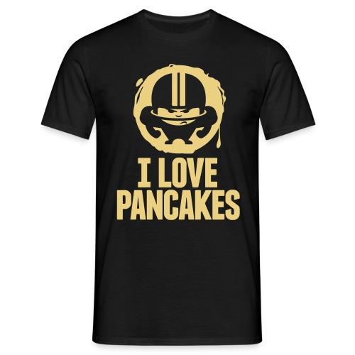 I LOVE PANCAKES - Männer T-Shirt