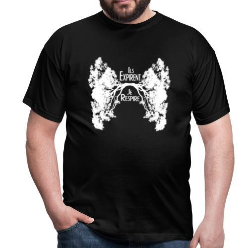 Oxygène blanc - T-shirt Homme