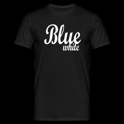 Blue White - Men's T-Shirt