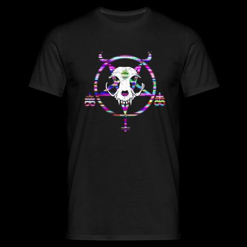 glitch cat - T-shirt Homme