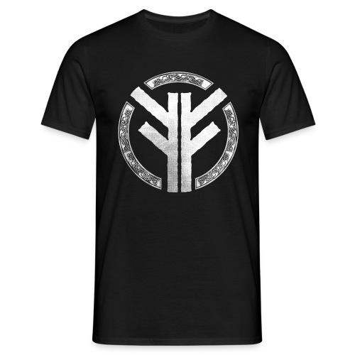 Forefather symbol white - Men's T-Shirt