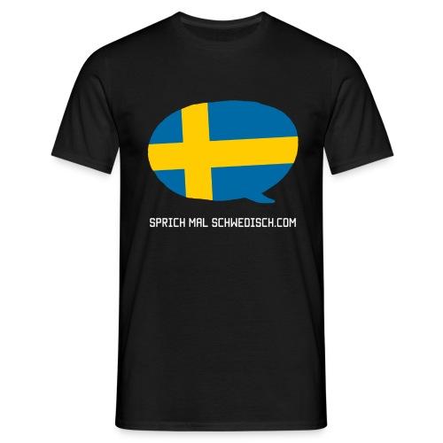 Sprich Motte Englisch - Männer T-Shirt