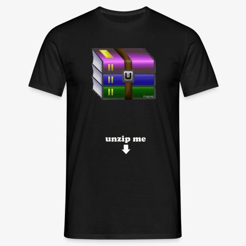 unzip me - T-shirt Homme
