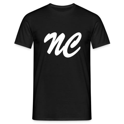 NightcoreCast Black And White - Men's T-Shirt