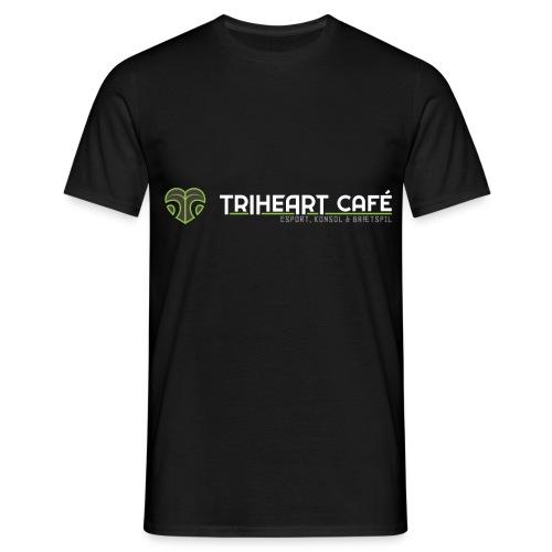TRIHEART LOGO NEW WHITER - Men's T-Shirt