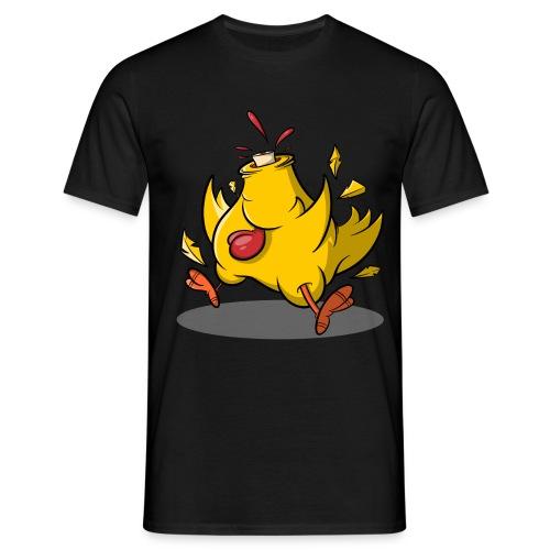 Kopflos - Verrücktes Huhn ohne Kopf - Männer T-Shirt