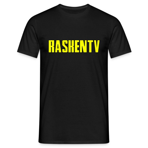 RaskenTv Yellow - T-shirt herr