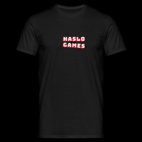 NEW HASLOGAMES LOGO - Mannen T-shirt