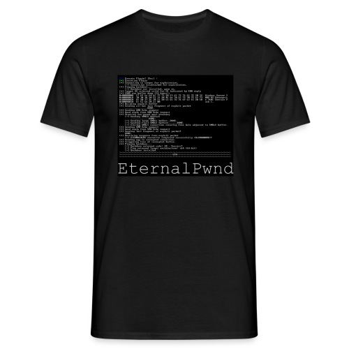 EternalBlue - Mannen T-shirt