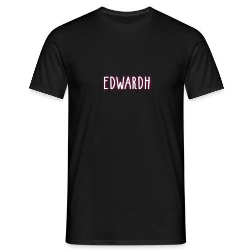 edwardh vanligt basic motiv - T-shirt herr