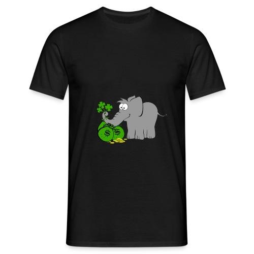 Der Gewinnofant - Männer T-Shirt