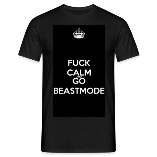 Go Beast-Mode - Men's T-Shirt