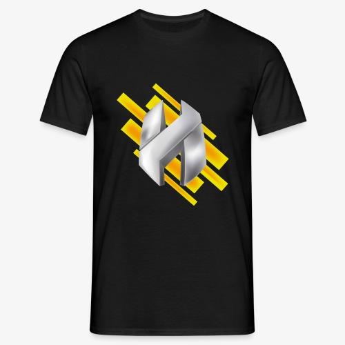 Abstract Yellow - Men's T-Shirt