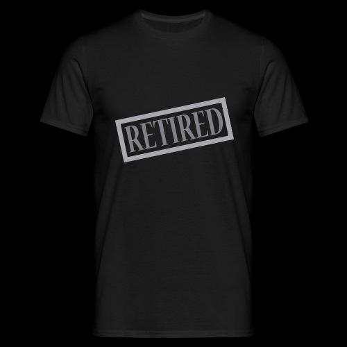 Retired - Camiseta hombre