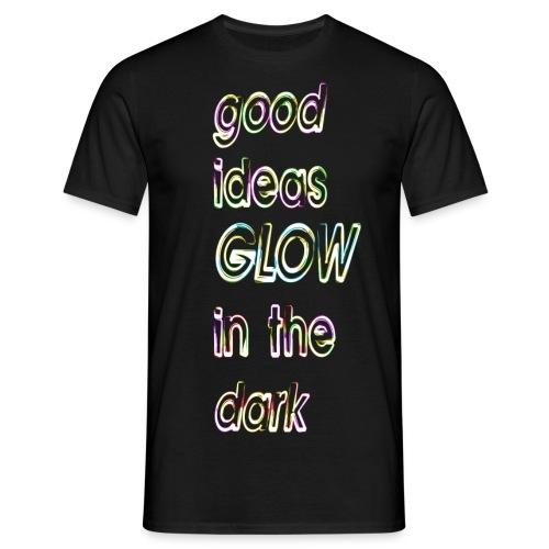 good ideas GLOW in the dark - Camiseta hombre