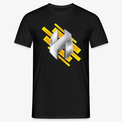 Abstract Yellow - Men's T-Shirt