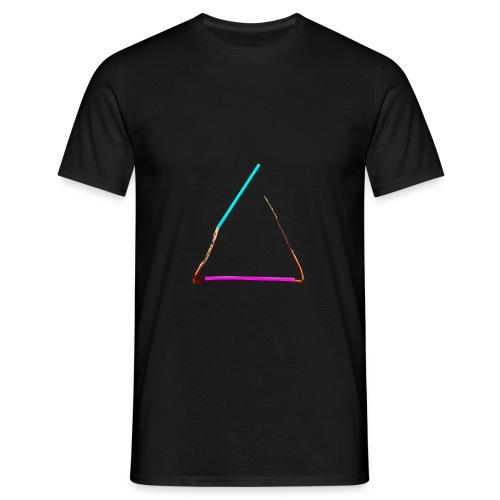 3eck - Dreieck - triangle - Männer T-Shirt