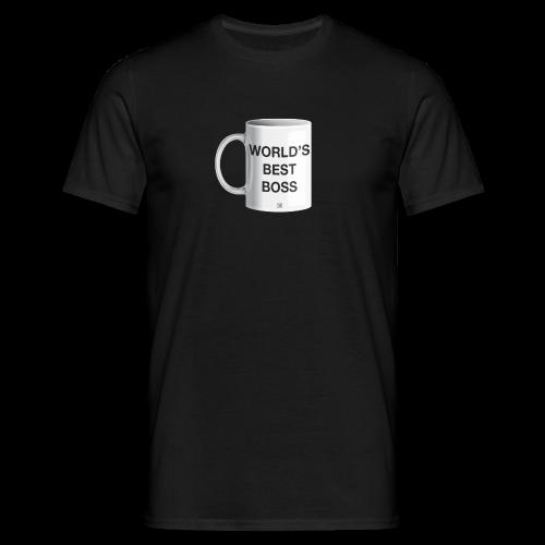 World's best boss - Camiseta hombre