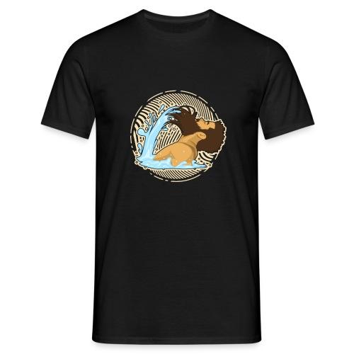 Bart Welle - lustiges Geschenk für Männer mit Bart - Männer T-Shirt