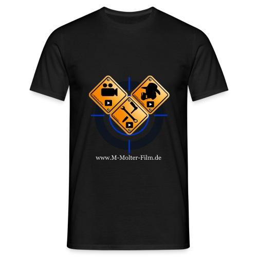 Logo Homepage M-Molter-Film.de - Männer T-Shirt