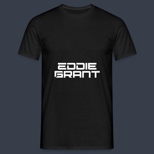 Eddie Grant White Logo - Mannen T-shirt