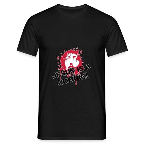 Jesus is a zombie - Men's T-Shirt