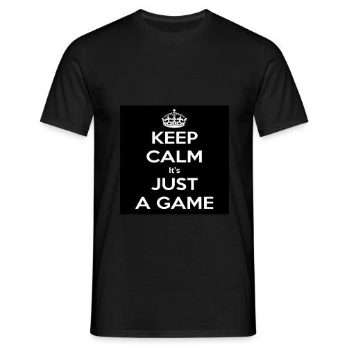 Det är bara ett spel - T-shirt herr