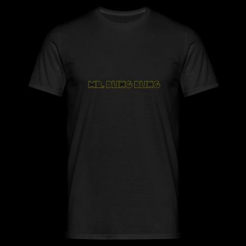 bling bling - Männer T-Shirt