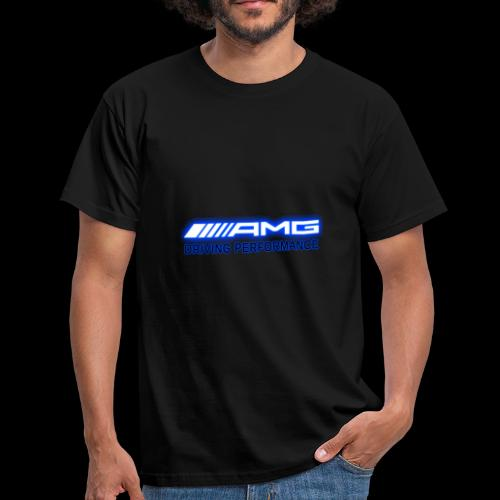 AMG Blue-Edition NEON - Männer T-Shirt