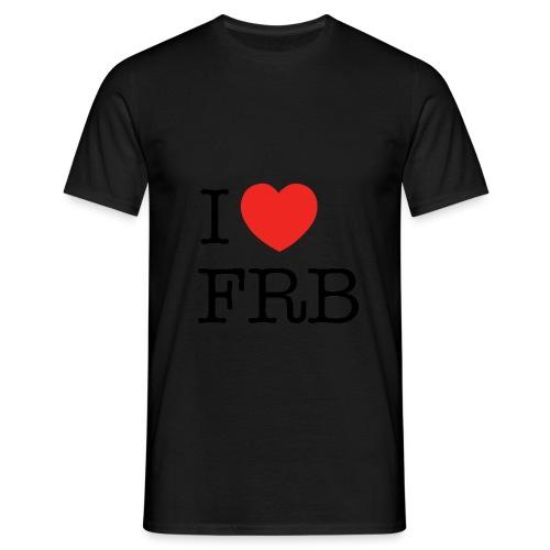 I Love FRB - Workwear - Herre-T-shirt