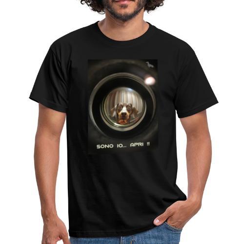 Bassotto allo Spioncino - Maglietta da uomo