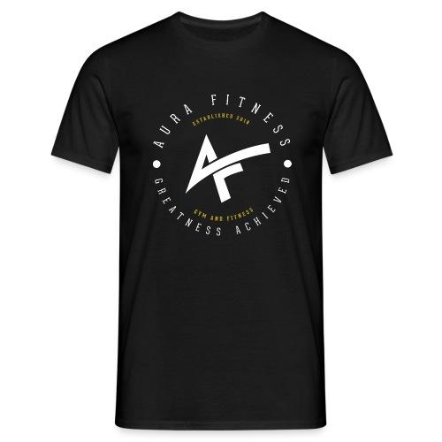 Aura Fitness BLACK/BLACK - Men's T-Shirt