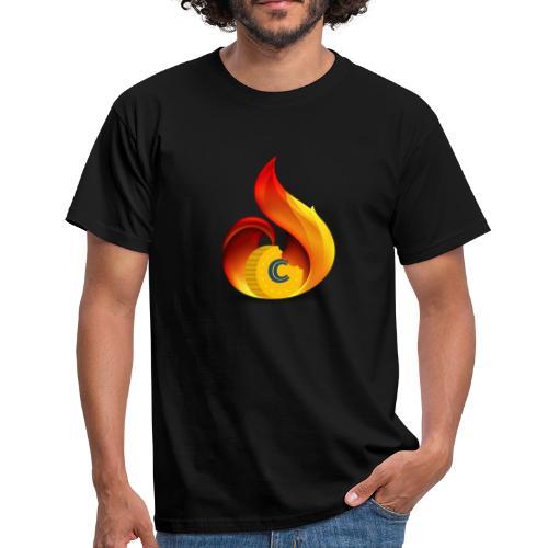 Crunch on Fire - Maglietta da uomo