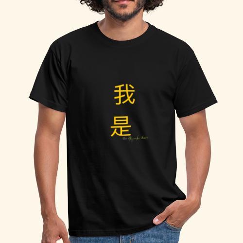 Yo Soy mandarin amarillo - Camiseta hombre