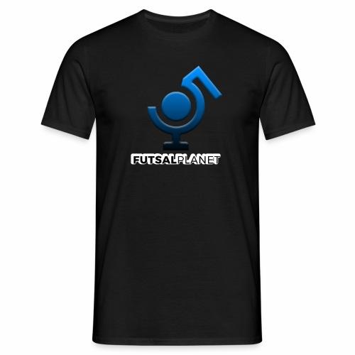 Futsal Planet logo 2 - Herre-T-shirt