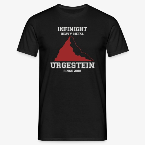 IN Urgestein Gipfel hell - Männer T-Shirt