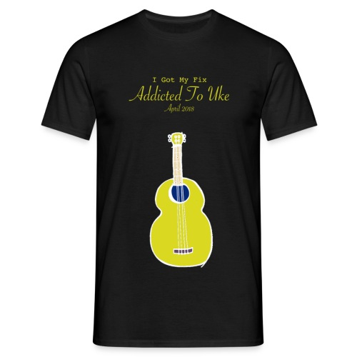 Addicted To Uke Spring 2018 Souvenir - Men's T-Shirt