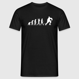 Evolution hockey! Ishockey! ishockey - T-shirt herr